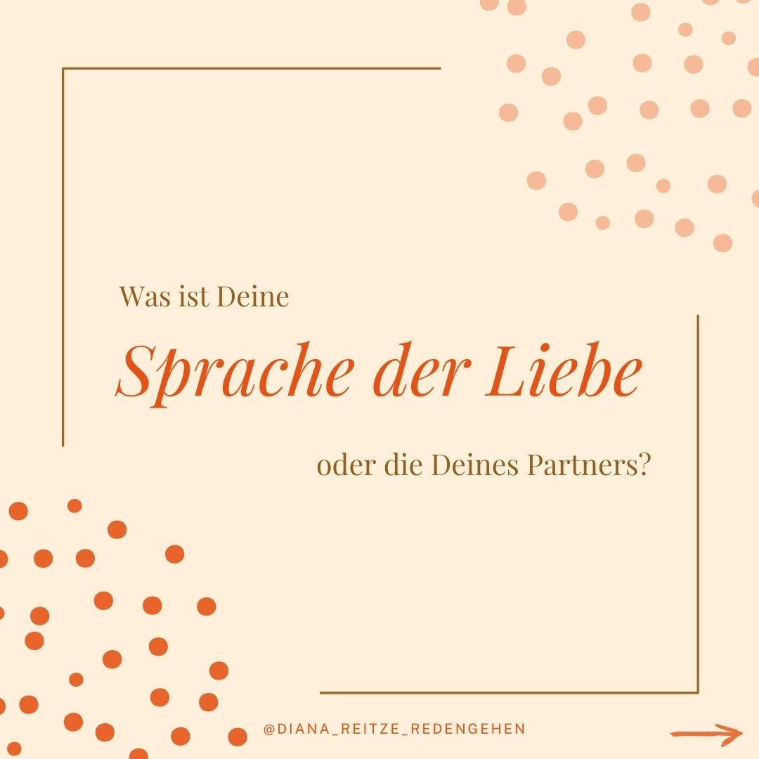 Was ist deine Sprache der Liebe oder die deines Partners?